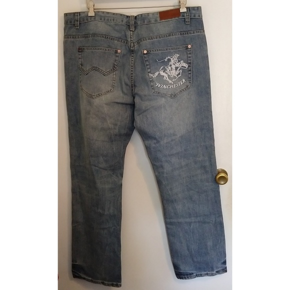 Winchester Other - Winchester Mens Jeans Cowboy on Horse 40/32